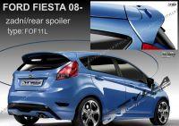 Zadní spoiler horní zadní pro FORD Fiesta 2008r =>