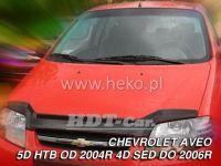 Deflektor Lišta prednej kapoty PKL CHEVROLET Lacetti Aveo 4dv. 2004r sedan, Htb Nový vzor