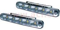 Přídavná světla denní svícení LUCAS - 12V, 5xSMD