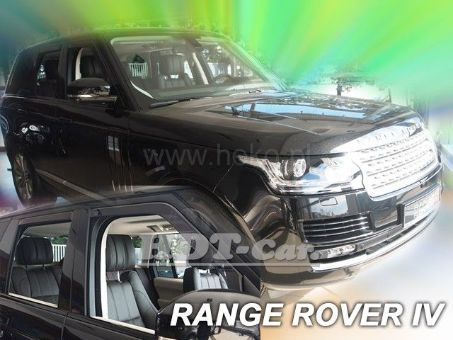 Plexi, ofuky Land Rover Discovery IV 5D 2009 => heko