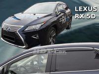Plexi, ofuky Lexus RX 5D 2016r =>, přední+zadní 4ks