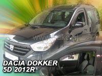 Plexi, ofuky bočních skel Dacia Lodgy 5D 2012 => HDT