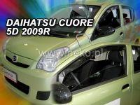Plexi, ofuky Daihatsu Cuore VII 5D 2007 =>, přední HDT