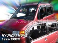 Plexi, ofuky Daihatsu Move 5D 95--98R přední HDT