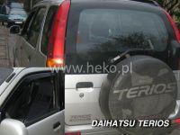 Plexi, ofuky Daihatsu Terios 5D OD 1998 =>, přední HDT