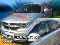 Plexi, ofuky Dodge Journey 5D 2008 => přední + zadní HDT