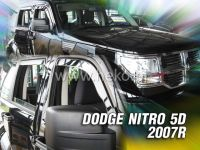 Plexi, ofuky Dodge Nitro 5D 2007 => přední HDT