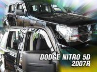 Plexi, ofuky Dodge Nitro 5D 2007 => přední + zadní HDT