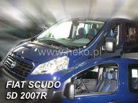 Plexi, ofuky Fiat Scudo 2D, 2007 =>, 2ks přední HDT