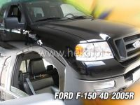 Plexi, ofuky Ford F-150 2005 =>, přední HDT