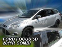 Plexi, ofuky FORD Focus combi, 5D 2011 =>, přední + zadní HDT