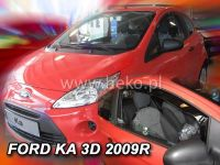 Plexi, ofuky Ford Ka 3D 2009 =>, přední HDT