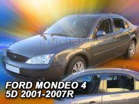 Plexi, ofuky Ford Mondeo 4D 2001 =>, sedan/htb přední + zadní HDT