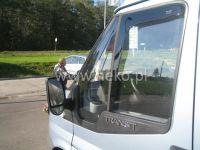 Plexi, ofuky Ford Transit 2D 2006 =>, přední HDT