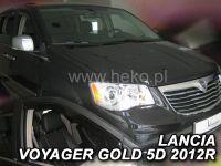 Plexi, ofuky Chrysler Voyager grand 5D 2008 =>, přední HDT