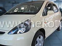 Plexi, ofuky Honda Jazz 5dv., 2001 =>, přední HDT