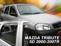 Plexi, ofuky Honda Jazz 5D 2009 =>, přední + zadní HDT