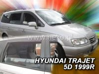 Plexi, ofuky Hyundai Trajet 5D 99-2007 přední + zadní HDT
