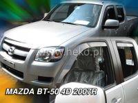 Plexi, ofuky MAZDA BT50, 4D, 2007 =>, přední + zadní HDT