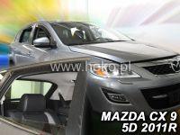 Plexi, ofuky MAZDA CX-9, 4D 2007 =>, přední + zadní HDT