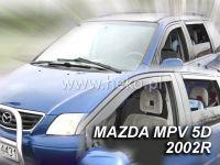 Plexi, ofuky MAZDA MPV, 5D, 2001 =>, přední HDT