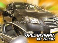 Plexi, ofuky OPEL Insignia 4D, 2009 =>, přední HDT