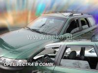 Plexi, ofuky OPEL Vectra B combi, 5D, 96-2002, přední + zadní HDT