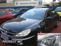 Plexi, ofuky PEUGEOT 607, 4D sedan HDT