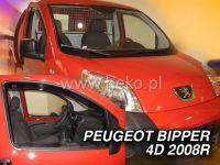 Plexi, ofuky PEUGEOT Bipper, 4/5D, 2008 =>, přední HDT