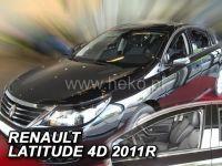 Plexi, ofuky RENAULT Latitude, 4D, 2011 => přední HDT