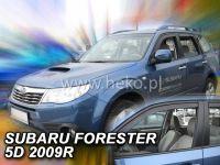 Plexi, ofuky SUBARU Forester SH 5D, 2009 =>, přední HDT