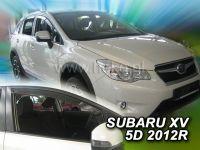 Plexi, ofuky bočních skel Subaru XV 5D 2012 => HDT
