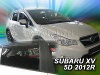 Plexi, ofuky bočních skel Subaru XV 5D 2012 =>, HDT