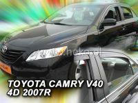 Plexi, ofuky Toyota Camry V40 4D 2007, přední + zadní HDT