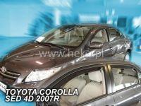 Plexi, ofuky Toyota Corolla 4D 2007 =>, sedan + zadní HDT