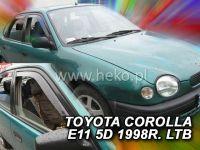 Plexi, ofuky Toyota Corolla E11 4/5D 97-2001, TMP-80, přední HDT
