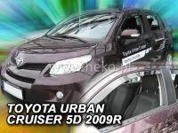 Plexi, ofuky Toyota Urban Cruiser 5D, 2009 =>, přední HDT