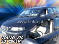 Plexi, ofuky Volvo V70 5D 2000 combi, přední HDT