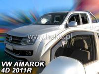 Plexi, ofuky VW Amarok 4D 2011 =>, přední HDT