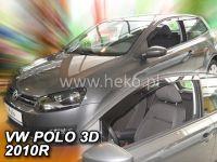 Plexi, ofuky VW Polo 3D 2009, přední HDT