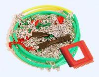 Snehové reťaze X40 krížová stopa 3,0 mm 9mm, Rýchloupínacie Nylonová taška Vyrobeno v EU