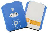 Parkovacie hodiny s meračom dezénu, škrabka