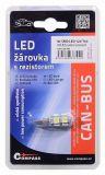 Vysocesvítivé čipové SMD LED diod, Žárovka 9 SMD LED 12V T10 Vyrobeno v EU