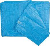 Univerzální nepromokavá plachta obdelník, modrá 90g/m2 2x3m CM