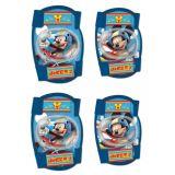Chrániče kolien a lakťov pre deti Mickey Mouse - 4ks