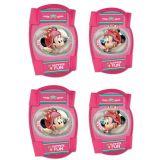 Chrániče kolien a lakťov pre deti Minnie Mouse - 4ks