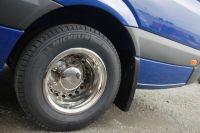 """Kryty kolies, Mercedes Sprinter, VW Crafter 16"""", 4 ks predné+zadné"""