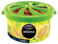 Vône citrón AROMA CAR ORGANIC 40g LEMON  FAL970
