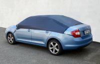 Autoplachta NYLON střešní velikost L 266x165x58 cm ochranná plachta na auto pulgaráž Vyrobeno v EU