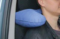"""Cestovní polštářek do auta okolo krku nafukovací """"H"""" NECK CM"""
